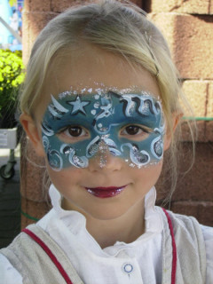 Kinderschminken Dortmund - schönes Eyedesign