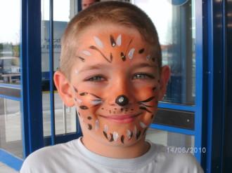 Kinderschminken Ludwigsburg - Tiger